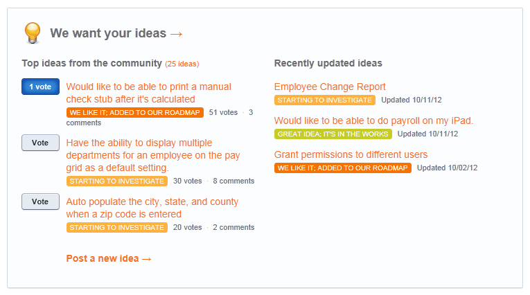 Be the Designer: User-Driven Product Updates
