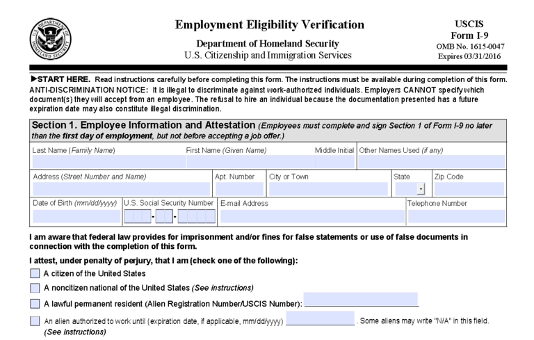 Paycor Resource Center | Revised Form I-9 Released | Paycor