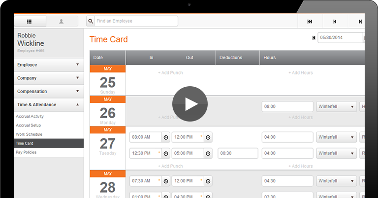 Time & Attendance Tracking
