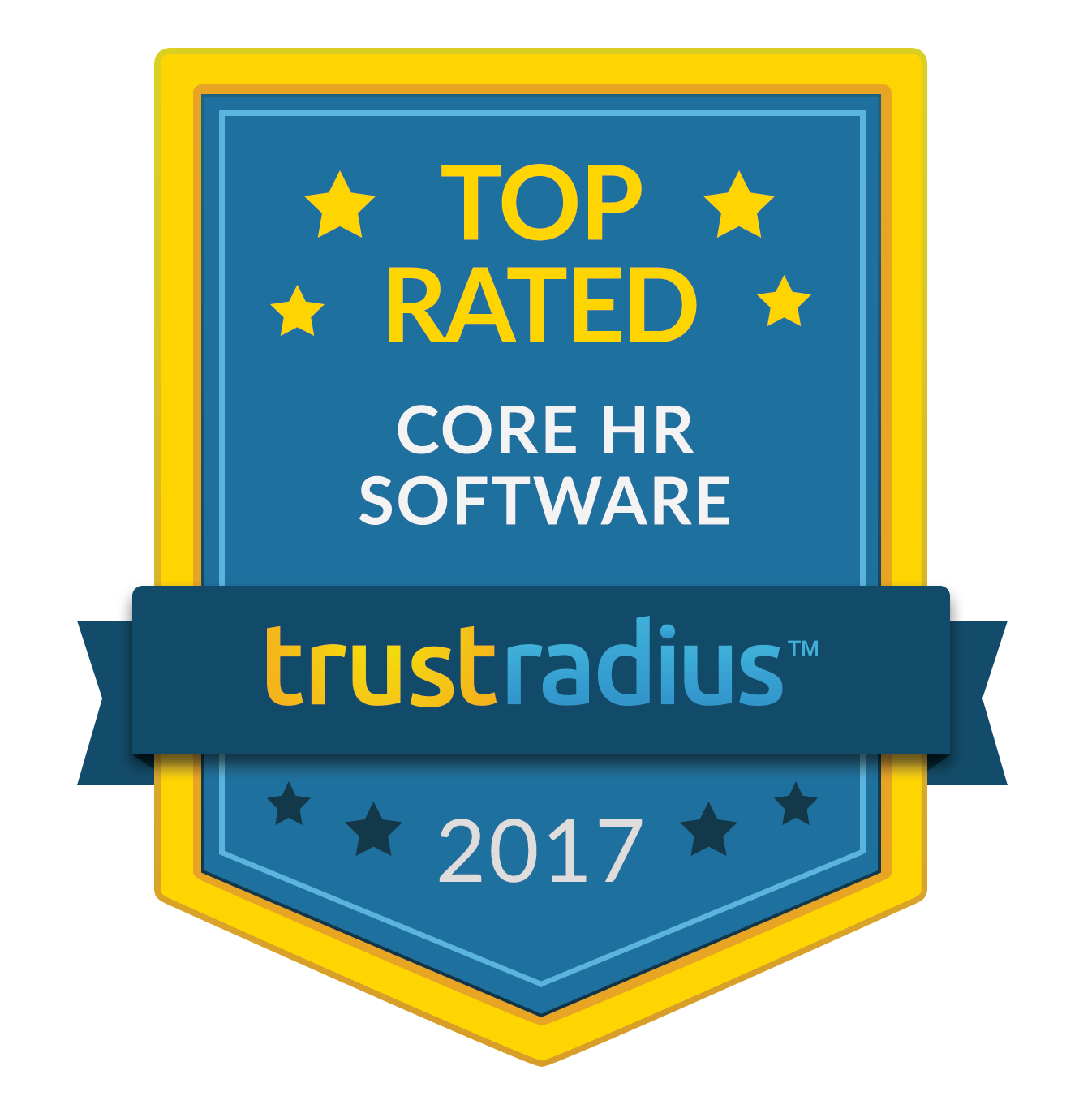 TrustRadius Top Rated Core HR Software