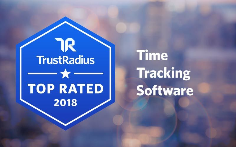 Trust radius time tracking award
